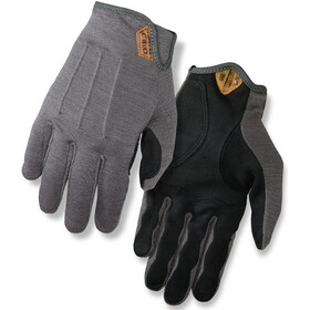 Giro D'Wool Bike Gloves Men grey/black